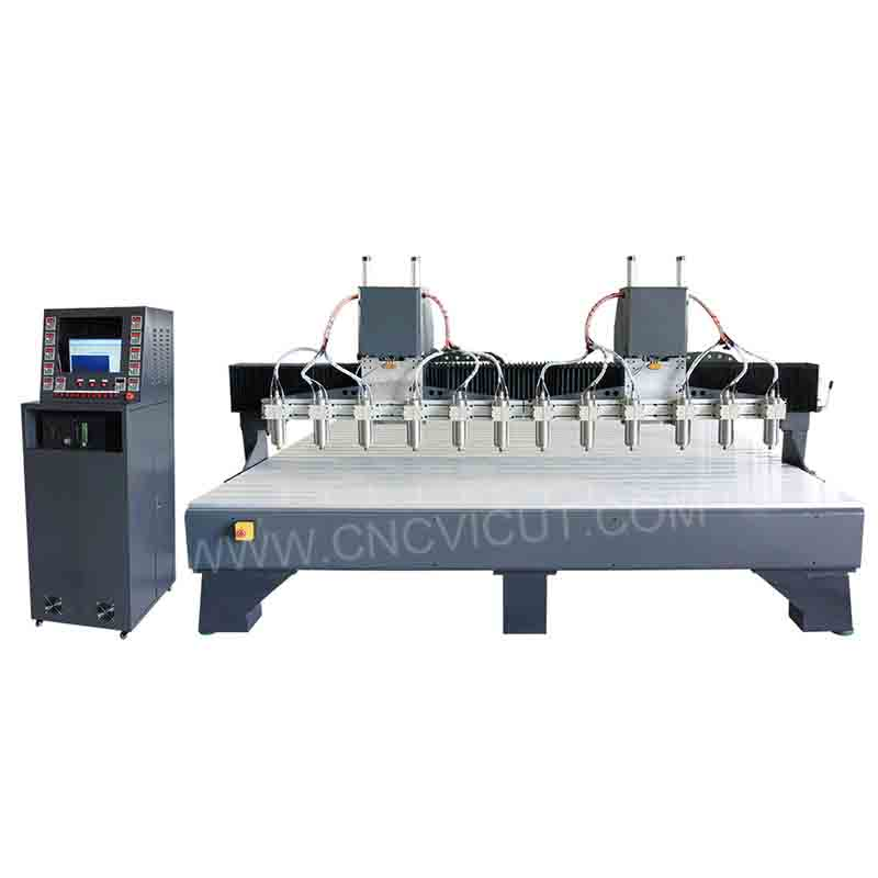 Multi-head Wood Carving CNC Router