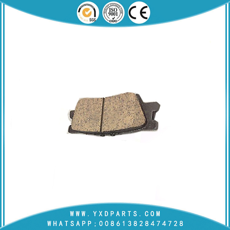 China Car Accessories Front brake pads oem 04466-06090 for LEXUS TOYOTA