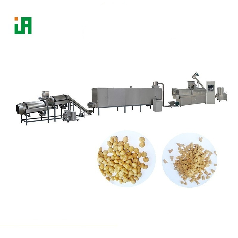 Cereal Basing Puffed Dry Pet Dog Food Processing Line Machine