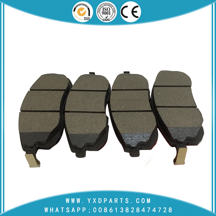 china car parts factory Wholesale high performance ceramic/semi metal brake pads oem 41060-5Y790 for INFINITI Nissan