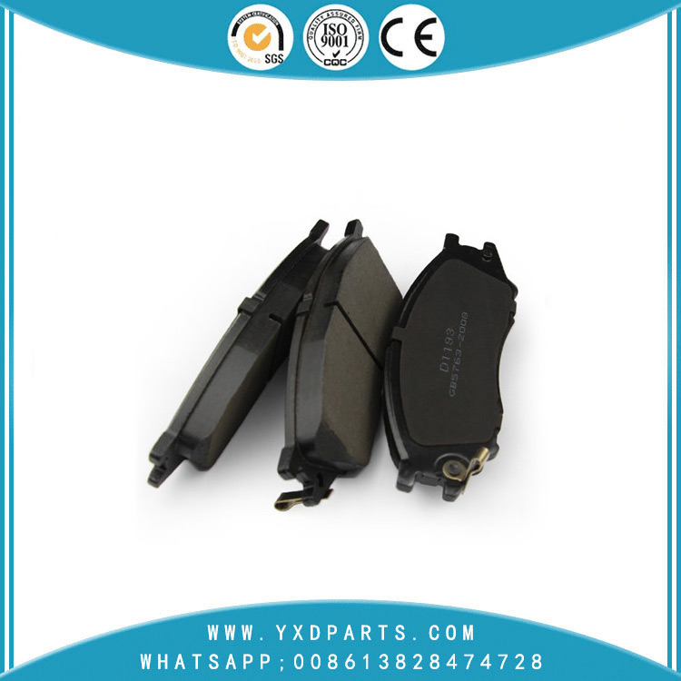 China auto spare parts manufacturer the Semi-metal/ceramic brake pads oem 41060-6N091 for NISSAN