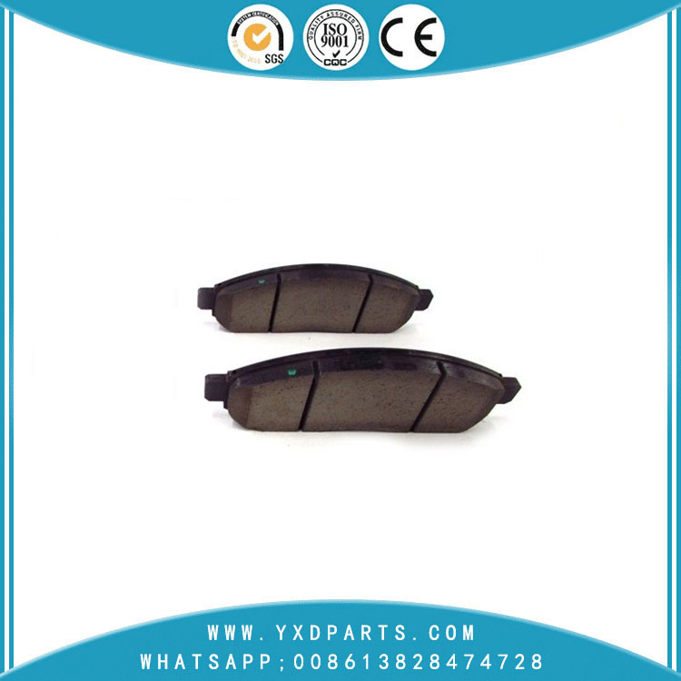 china car parts factory Wholesale high quality ceramic/semi metal NISSAN SUZUKI Brake pads oem 41060-zp025