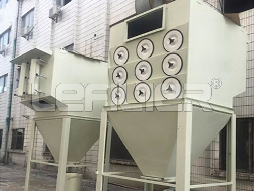 Different powder cartridge type dust collector for food / milk powder