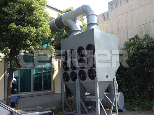 Cartridge Filter Dust Collector for port of transshipment nonferrous metallurgical industry