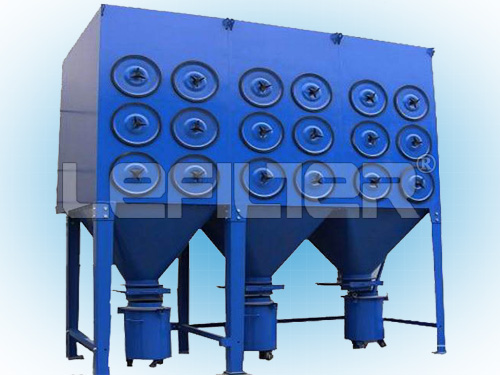 LEFILTER cartridge dust collector with independent electrical box
