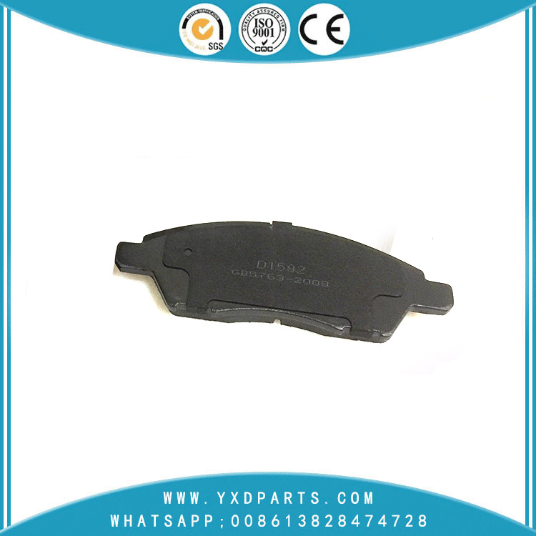 High Perferance car Brake Pads oem D1060-ED500 for VENUCIA NISSAN