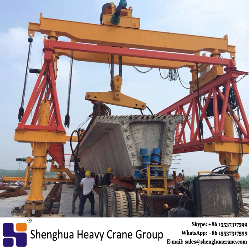 260 ton i beam 24m bridge beam launcher machine manufacturer price