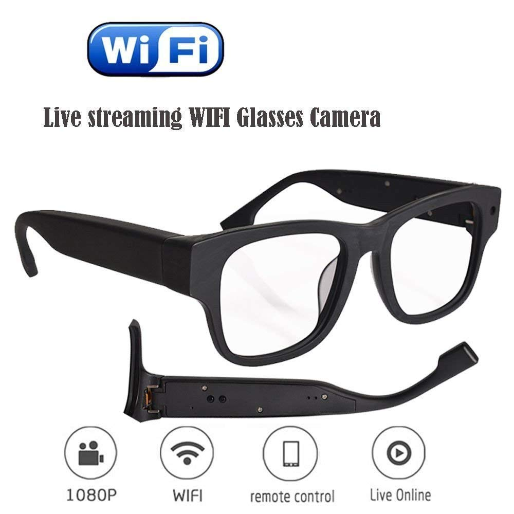 Hidden spy camera Live Streaming Glasses Camera