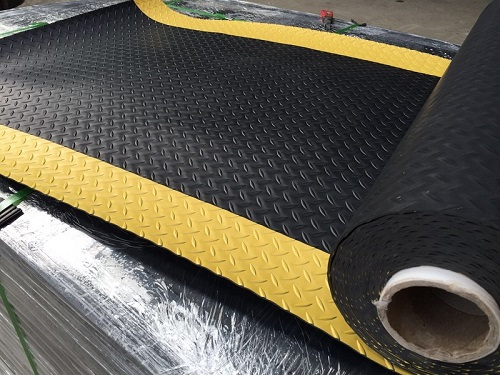 pvc garage floor mat