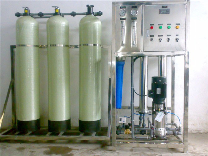 Industrial 500LPH Reverse Osmosis System