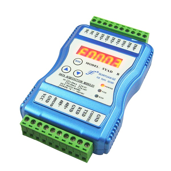 RJ45 output Support Modbus TCP Ethernet Digital to Digital Signal Converter