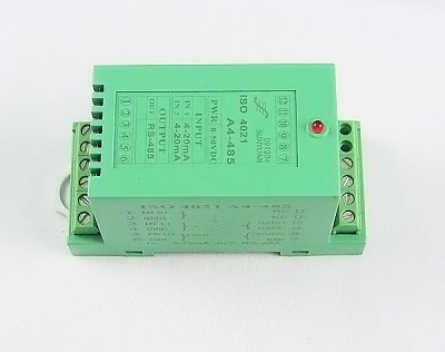 DC Current/Voltage to RS485/RS232 Converter(1-ch DS18B20 Temp.Signal Input) SYAD02