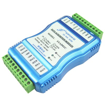 Isolated Positive and Negative 0-5V to RS232/RS485 A-D Converter ISO 4021 Series
