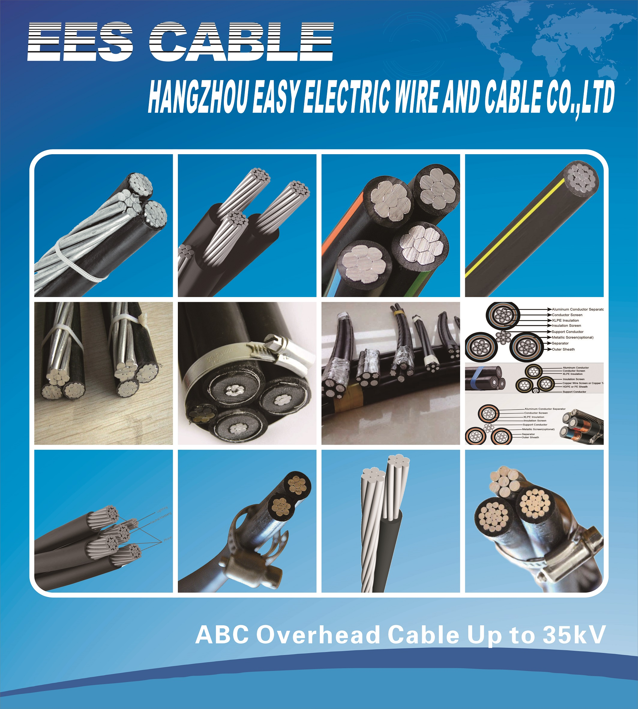 ABC overhead Cable.