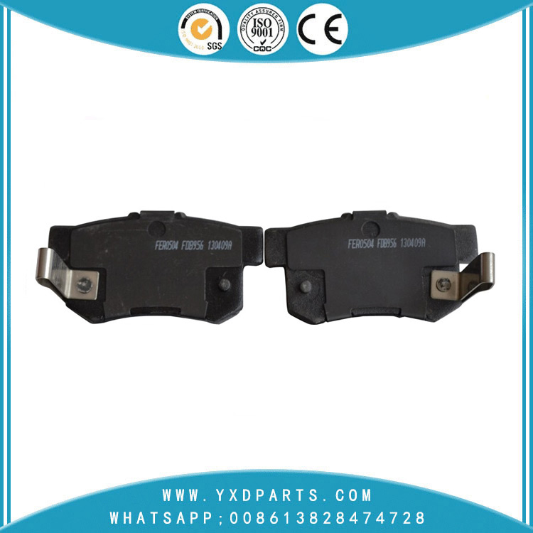 Asbestos Auto Part Brake Pads oem FDB956-D for HONDA ACURA ROVER