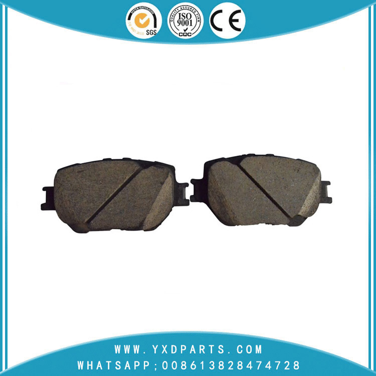 Chinese car brake pad manufacturer OEM FDB4201-D for TOYOTA