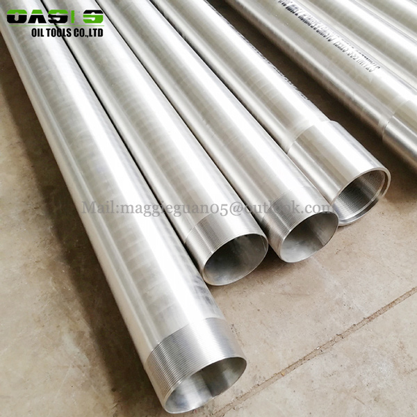 API satinless steel casing pipe STC LTC BTC thread END