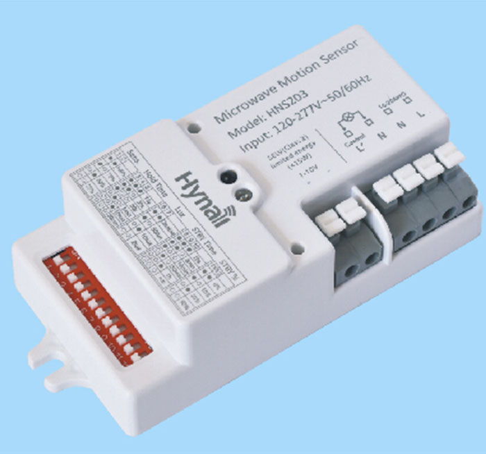 Highbay Version AC Input Microwave Motion Sensor