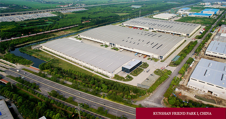 China professional Large -span Redwood Warehouse for renting