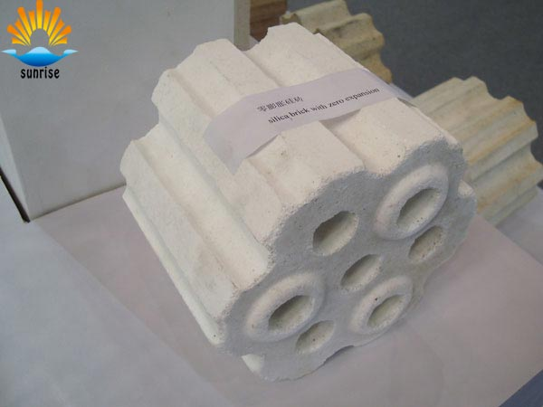 high quality! refractory silica fire brick for furnace crown