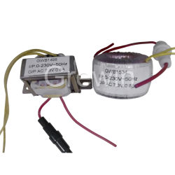 Grewin 12V 24V Toroidal Transformer Ring Type Transformer 100va 200va