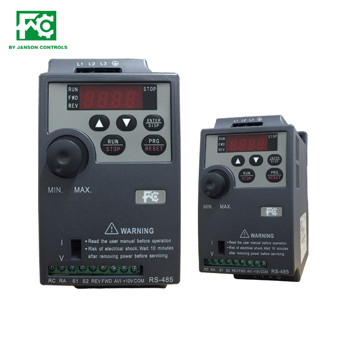 AC Drive, 240VAC, 1PH, 8 Amps, 1.5 kW, 2 HP
