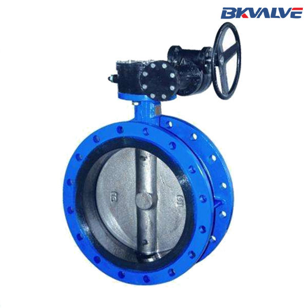 WORMGEAR OPERATED FLANGE BUTTERFLY-VALVE