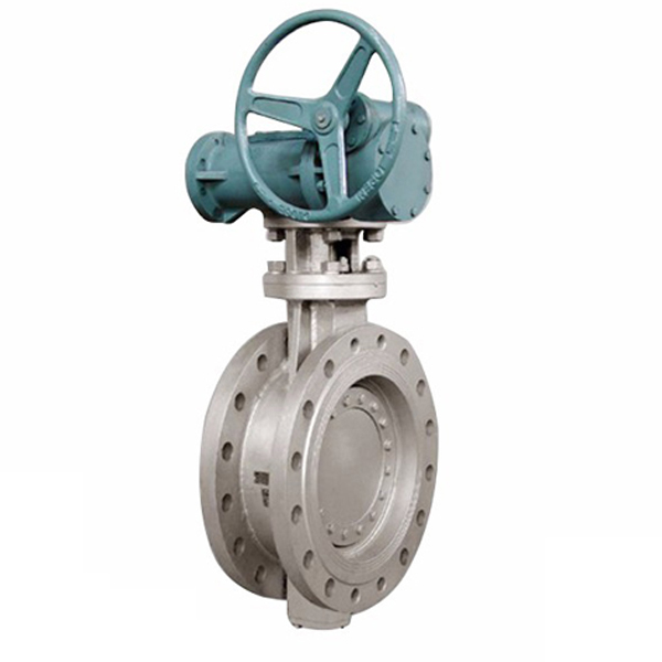 STAINLESS-STEEL-FLANGED TRIPLE OFFSET BUTTERFLY VALVE