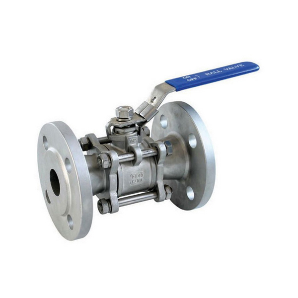 3 PCS STAINLESS STEEL FLANGE BALL VALVE