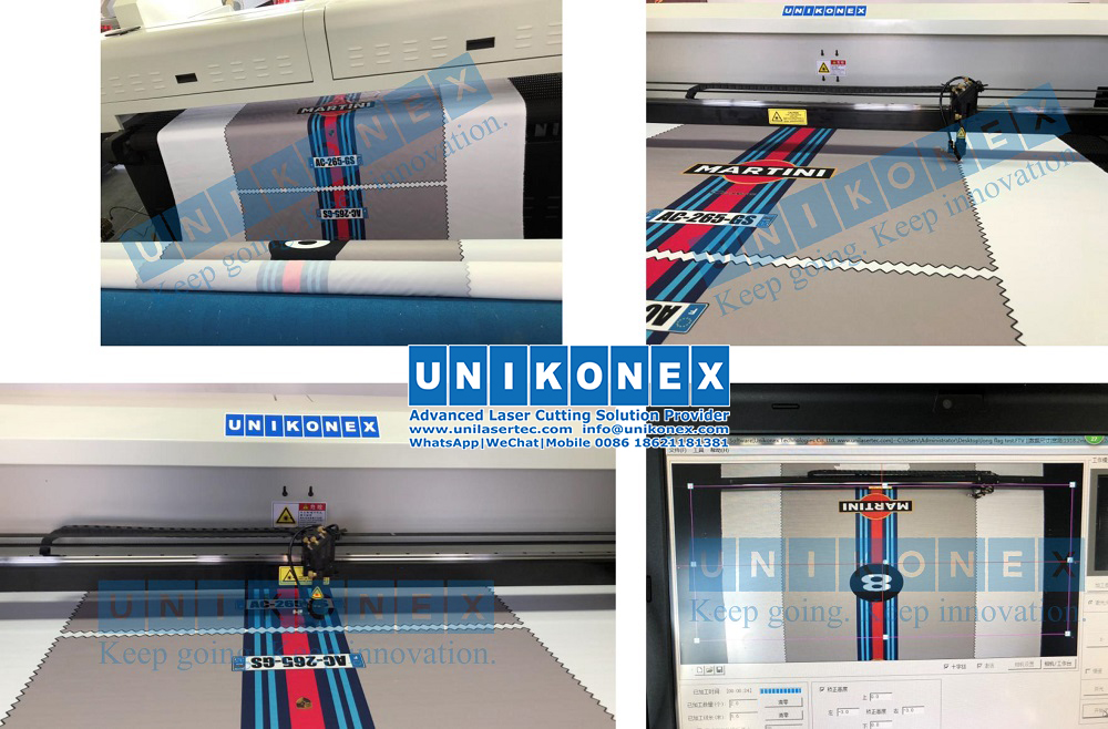 180cm*90cm printed fabric laser cutting