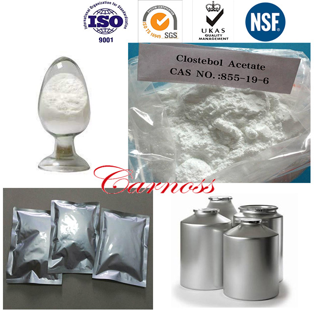 Bodybuilding Male Enhancement Drugs  Clostebol Acetate Powder CAS 855-19-6