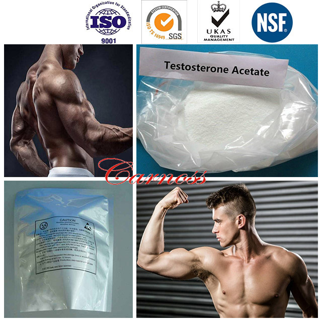 Amolisin Farmatest Testosterone Raw Powder Testosterone Acetate CAS 1045-69-8