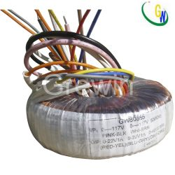 50Hz Power Supply Toroidal Transformer for Television