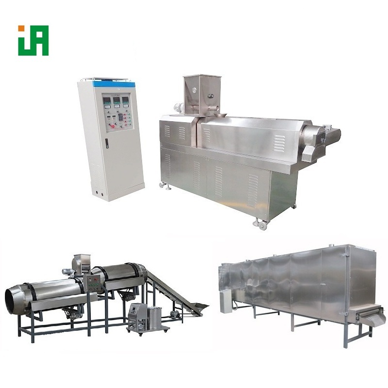 Twin-screw Extruded Rice Snack Food Extrusion Extruder Equipment