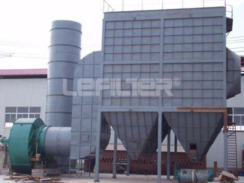 long bag low pressure pulse dust collector