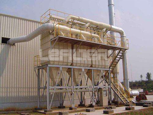 Long bag pulse outdoor dust collector for mining