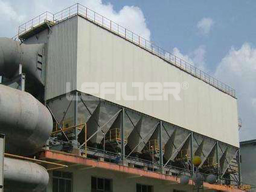 High quality long bag filter low pressure pulse type dust collector price