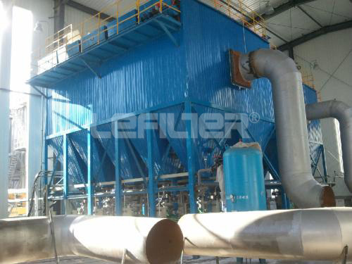 high quality low pressure long bag house dust collector