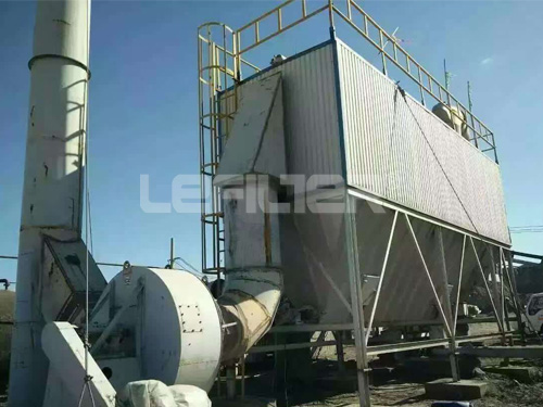Long bag pulse bag type industrial dust collector