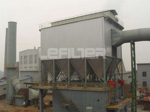 long bag dust collector for heavy industries dust removal machine with PLC control