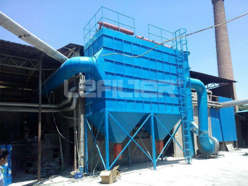 High Efficiency Industrial Bag Dust Collector