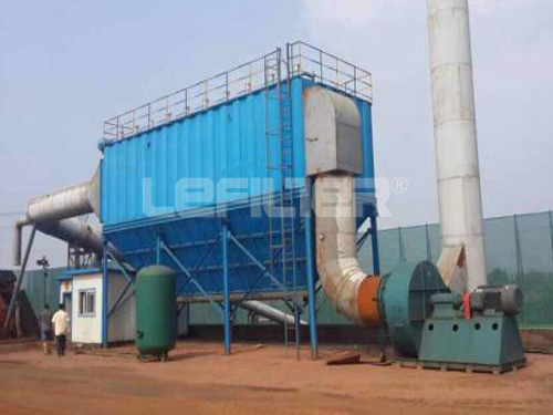 Air Box Pulse bag type industrial dust collector