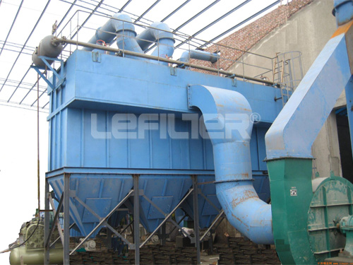 High performance air box pulse bag type dust collector
