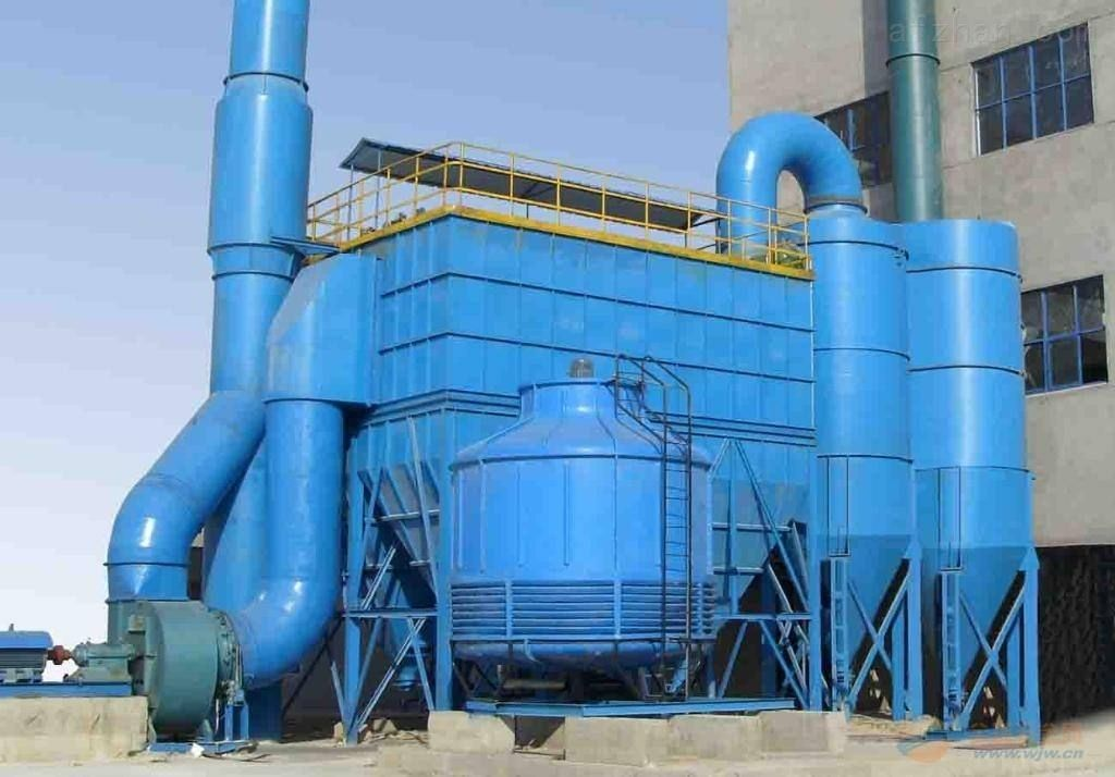 Factory New Design Pulse Bag Dust Collector With Air Box