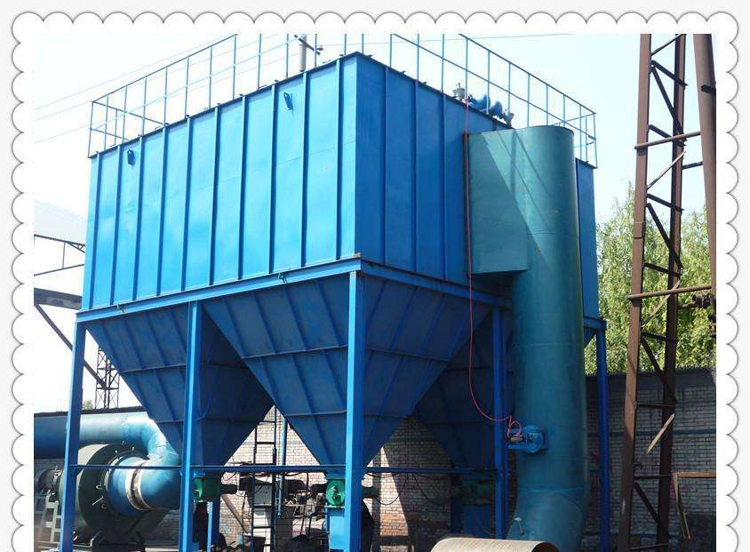 Air box mechanical pulse dust collector