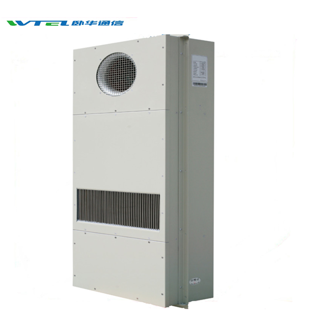 W-TEL industrial counter flow heat exchanger for telecom shelter cabine