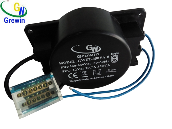 500V Waterproof Power Toroidal for Garden Light