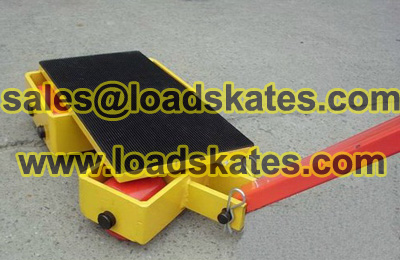 Load moving skates manual instruction