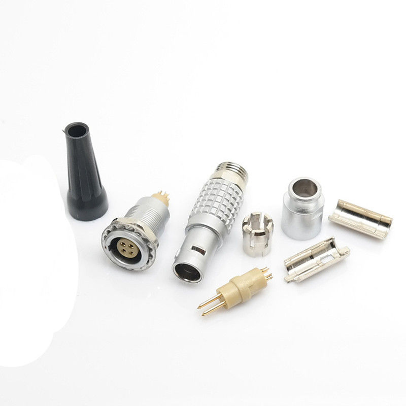 Compatible LEMO connector, B series Push-Pull Connectors,2 Pins circular plug
