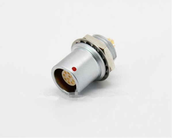Compatible Lemo Push-pull self-locking connector female EHG socket